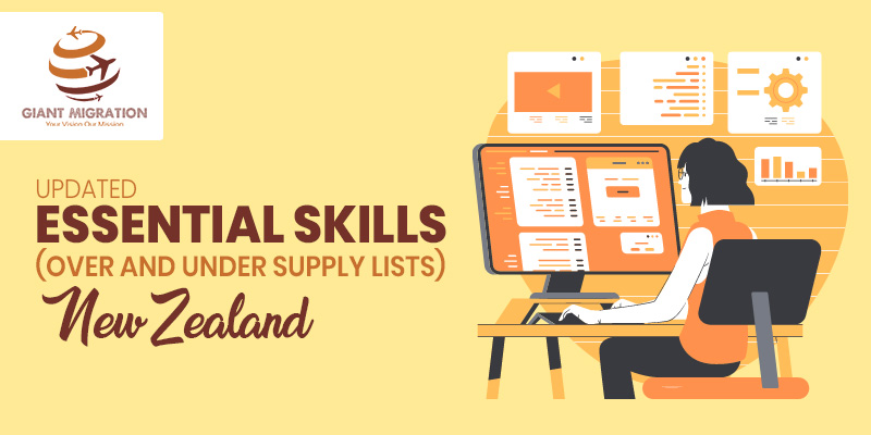 Updated Essential Skills (over and undersupply lists) - New Zealand